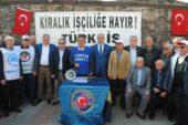 """Türk-İş'ten """"kiralık işçiye"""" protesto – Kocatepe Gazetesi"""