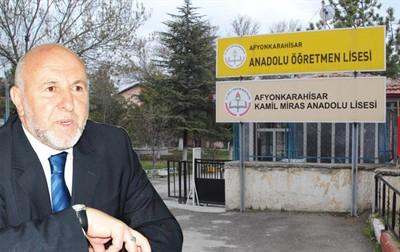 Kamil Miras Lisesi'ndeki ağaçlar korunacak