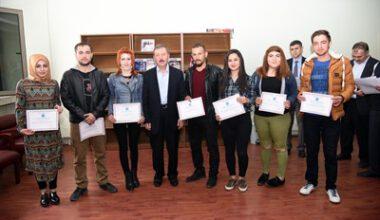 GSF öğrencilerinin uygulamaları İBBF'de sergileniyor