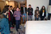AKÜ'lü öğrenciler DoubleTree by Hilton'a teknik gezi düzenledi