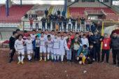 U-16'larda şampiyon Sandıklıspor oldu