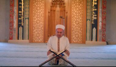 Tarihi Cami'de 87 yıl sonra ilk mukabele okundu