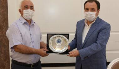 AKÜ Genel Sekreter Yardımcısı Aydoğan emekli oldu
