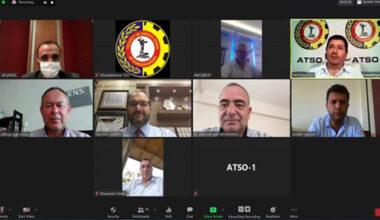 ATSO yönetim kurulu  toplandı