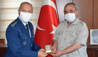 Albay Büyüköztürk'ten Başkan Şahin'e ziyaret