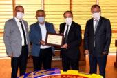 Başkan Zeybek'ten ATSO ve Söz Marketlere teşekkür