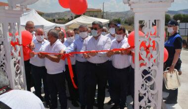 Dinar'da Katı Atık Aktarma İstasyonu hizmete açıldı