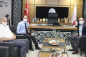 Rektör Okumuş, Aydın'da temaslarda bulundu