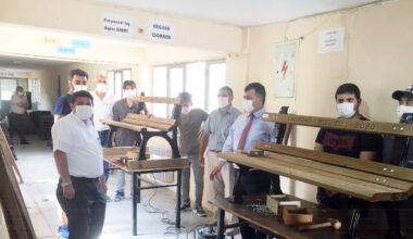 Emirdağ'da bankları  öğrenciler yapacak