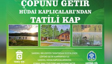 Akdağ'da çevre temizliği kampanyası başlatıldı