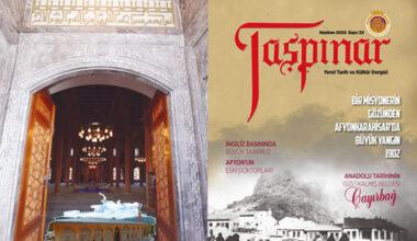 Taşpınar Dergisi'nin 23'üncü sayısı çıktı