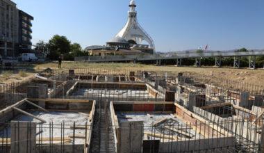 Erenler'de karakol inşaatı başladı