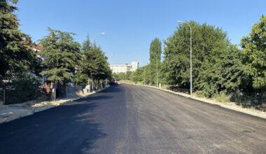 Erkmen'de asfalt çalışması tamamlandı