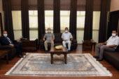 Rektör Karakaş, Eğitim Bir-Sen yönetimini kabul etti