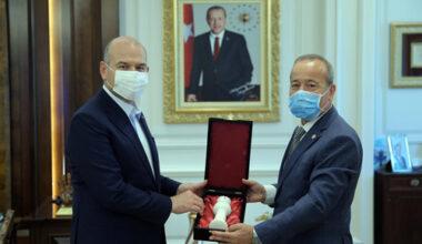 Taytak, İçişleri Bakanı Soylu'yu ziyaret etti