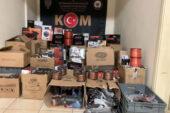 Çok sayıda gümrük  kaçağı  elektronik ürün  yakalandı
