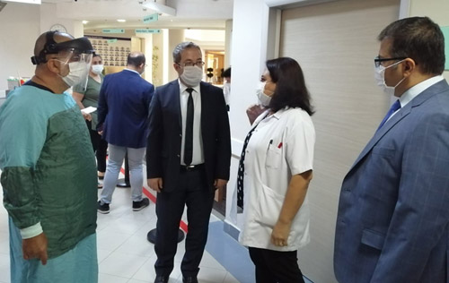 Özel Hastanelere Covid-19 denetimi