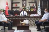 Başkanlar Şahin'e  projelerini anlattı