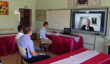 Bakan Selçuk seminere, telekonferansla bağlandı