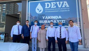 DEVA Partisi açılışa hazırlanıyor