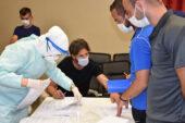 Jetler PARKHAYAT'ta koronavirüs testinden geçti