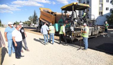 Taş Ocakları yolunda asfalt çalışmaları başladı