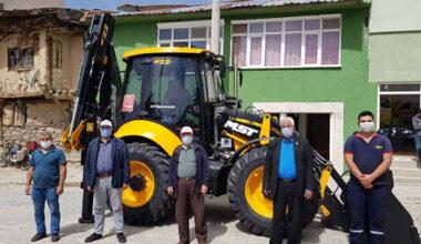 Taytak'tan Serban Belediyesi'ne kepçe desteği
