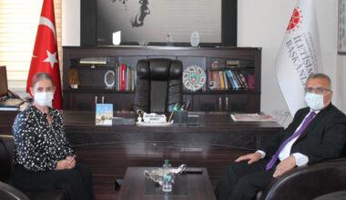 Vali Yardımcısı Boztepe, Burcu ile istişare etti