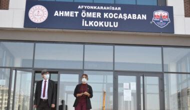 Yalçın, Ahmet Ömer Kocaşaban İlkokulunu inceledi