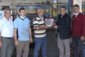 Oto tamircisi Ülker yılın ahisi seçildi