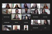 AFSÜ öğrencileri, çevrimiçi toplantıda buluştu