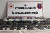 Ortak operasyonda 145 adet kaçak cep telefonu yakalandı