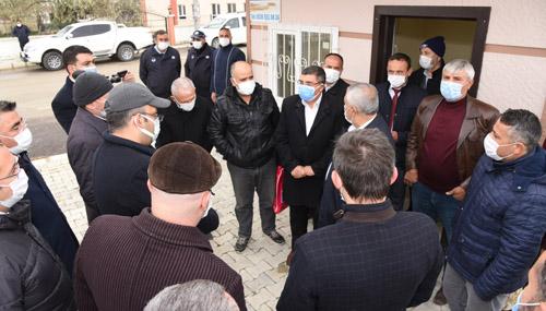 Zeybek, 58 mahallenin 52'sini ziyaret etti