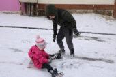 Çocuklar karın tadını çıkardı