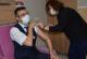 Afyonkarahisar'da ilk günde  3000 sağlık çalışanı aşılandı