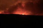 Eber'de bir ayda üçüncü büyük yangın çıktı