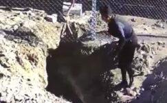 Hırsızlar kabloları keserle çaldı