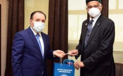 AKÜ, Bangladeş'le işbirliği yapacak