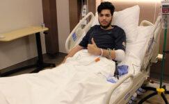 Karabilen ayak bileğinden ameliyat oldu