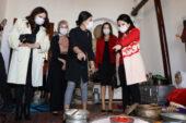 Sümeyra Çiçek, Emirdağ  Kültür Evi'ni ziyaret etti