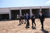 Başkan Çöl, yeni hal binasını inceledi