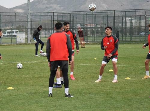 Jetler Urfa  maçının hazırlıklarını sürdürüyor