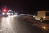Otomobil ile kamyon çarpıştı: 1 ölü, 2 yaralı