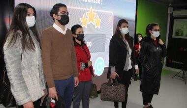 Palalı Teknik Lisesi öğrencileri dijital tırı ziyaret etti