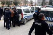Polise zorluk  çıkaran 3 zanlı tutuklandı