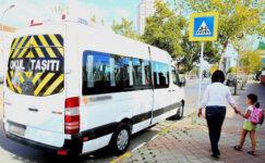 Trafik akışının rahatlaması amacıyla servis güzergahları düzenlendi