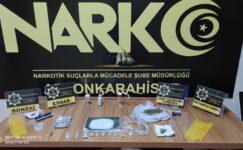 Erkmen'de uyuşturucu operasyonu: 8 kişi yakalandı
