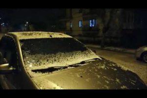 Afyonkarahisar'da dolu yağışı etkili oldu