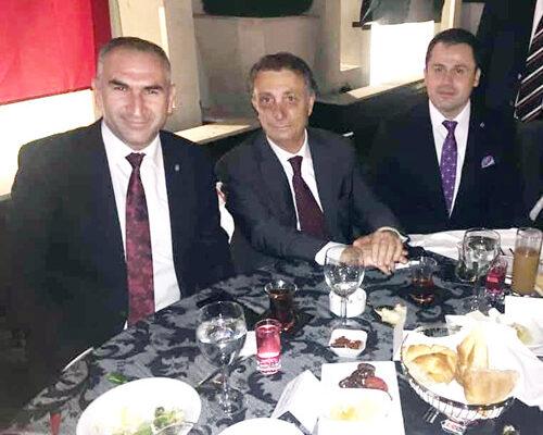 Beşer şampiyon Beşiktaş'ı tebrik etti