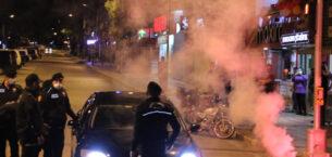 Beşiktaşlılar kutlama yaptı